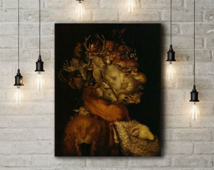 Arcimboldo: The Earth. Fine Art Canvas.